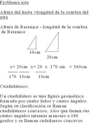 Matemàticas 2º Problema